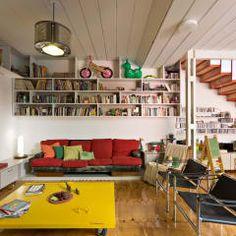 Salas de estar minimalistas por Pop Arq