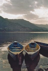 Pokhara, Nepal Missing Nepal today, thinking about boat rides across the lake. Beautiful World, Beautiful Places, Simply Beautiful, Wanderlust, My Home Design, Plein Air, The Great Outdoors, Serenity, The Row