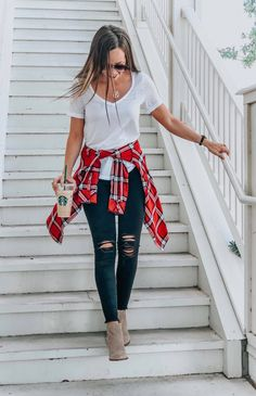 Concert outfit winter, country concert outfit, cute country outfits, cute t Cute Country Outfits, Trendy Fall Outfits, Style Outfits, Plaid Outfits, Edgy Outfits, Mode Outfits, Outfits For Teens, Spring Outfits, Preppy Outfits