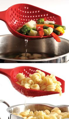 this is so cool for a smaller portion of pasta or veggies!