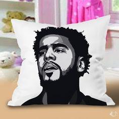 J cole m Pillow Cases