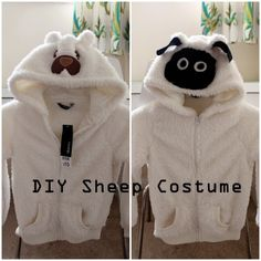 How to make a sheep costume with batting black long sleeve tshirt the school nativity an event parents of good children look forward to and parents of disruptive childrens worst nightmare solutioingenieria Choice Image