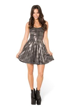 Disco Tribe Straps Skater Dress - LIMITED