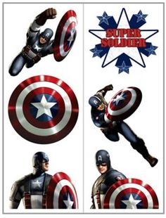 captain america tattoos