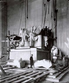 Construction of the Lincoln Memorial, 1914-1922