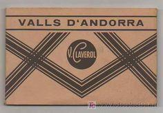 BOLCK CON 18 POSTALES. VALLS D'ANDORRA. (CLAVEROL). ANDORRA LA VELLA, ESCALDES, CANILLO, ORDINO Andorra, Vintage Postcards