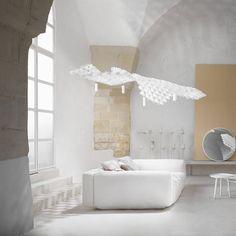 Slamp Nuvem Modular katto ja valaisin yhdistelmä Alcove, Bathtub, Led, Helsinki, Flashlight, Cloud, Standing Bath, Bathtubs, Bath Tube