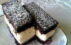 Cold Desserts, No Bake Desserts, Dessert Recipes, Hungarian Desserts, Hungarian Recipes, Czech Recipes, Cake Bars, Winter Food, Cakes And More