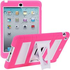 i-Blason ArmorBox Stand Convertible Hybrid Kick Stand Case for Apple iPad mini, Assorted Colors