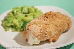 Garlic Cheese Chicken Rollups - Taste and Tell