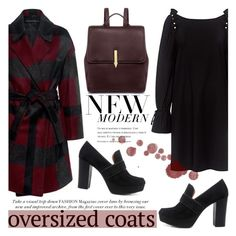 """""""Chic Oversized Coats"""" by ifchic ❤ liked on Polyvore featuring Mother of Pearl, 10 Crosby Derek Lam, Karen Walker, contestentry, oversizedcoats and ifchic"""