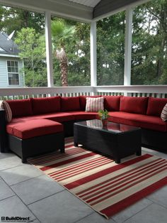 Having a protected outdoor living space means being able to enjoy the outdoors throughout the year!
