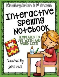 Interactive Spelling Notebook was created to give your students that extra boost of spelling skills in a fun and interactive way! You may use this on a week-to-week basis, or as a supplement to your current spelling program.