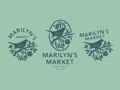 design // logo alternates by Marisa Schoen on Dribbble Self Branding, Logo Branding, Corporate Branding, Photography Packaging, Photography Logos, Vintage Photography, Logo Design Services, Brand Identity Design, Branding Design