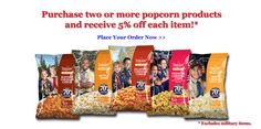 Trail's End Popcorn  Suppourt boyscout troups, help them fund camping, learning activities, and other wonderful experiences that help them build confidence .