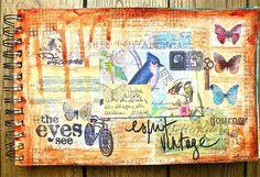 Art journal Comme un lundi ! | Flickr: Intercambio de fotos
