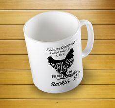 Super Cool Chicken Lady Mug