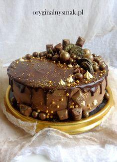 Tort ajerkoniakowy Chocolate Covered Treats, Vegan Ramen, Ramen Noodles, Sweet Desserts, Tiramisu, Birthday Cake, Gluten Free, Baking, Ethnic Recipes