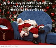 Best ever Santa photo.