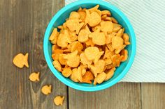 Homemade Whole Wheat Goldfish Crackers Recipe