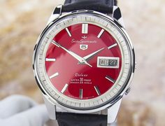 Vintage Rare SEIKO SPORTSMATIC  STAINLESS STEEL AUTOMATIC watch 60 s SCX250