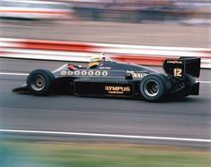 1985 British GP - Ayrton Senna (Lotus 97T)