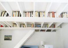 Ceiling Book Shelf