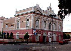 Teatro Deodoro. Deodoro Theater  Maceio  Brasil