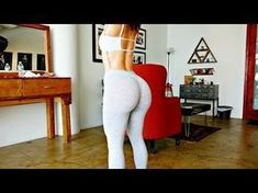 Butt Lifting Home Workout - No Equipment - Lunges - YouTube
