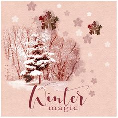 WINTER MAGIC (part of collab at Scrapaneers) by NBK designs tutorial by Janaina Oliveira  http://scrapaneers.com/create-a-simple-background-using-brushes-and-styles/ photo: mine