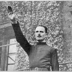 Oswald Mosley, British Fascist.   http://oldmagazinearticles.com/British_Nazi_Oswald_Mosely_article