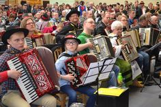 A new world record will be made on March 2015 at Sulęczyno.Kashubian accordion music  event.