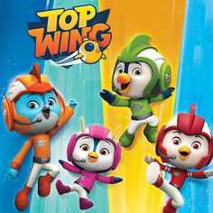 Coloring Page Top Wing New Series Cartoon Coloring Page