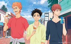 Gaju Akagi, Tatara Fujita and Kiyoharu Hyoudou Manga Anime, Anime Art, Ballroom E Youkoso, Fairy Tail Comics, Dance Hall, Anime Comics, Anime Love, Art Pictures, Otaku