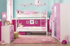 Κουκέτα ροζ και άσπρο για κορίτσια Dating Your Best Friend, Meeting New Friends, Master Closet, Girl Room, Bunk Beds, Toddler Girl, Room Decor, House, Furniture