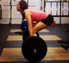 WHY YOU SHOULD LOVE DEADLIFTS (AND HOW TO DO THEM CORRECTLY) ... I wish more women would realize the benefits of weight lifting and know that it's physiologically impossible to bulk up like men do without some serious medication or years of intense training and specific eating schedules.