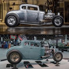Hot Wheels - Those of you know we like a sweet Model A and @calautocreations sure killed it with this bad boy! Love that stance. 📷 ⬆ @notstockphoto ⬇ @kcoxphoto #ford #model #stance #streetrod #streetmachine #hotrod #carporn #chopped #hamb...