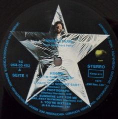 Ringo Starr - Ringo GER 1985? Lp mint-- Gatefold w/with 24 page booklet