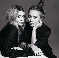 Les soeurs Mary-Kate et Ashley Olsen