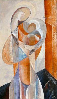 Motherhood II by Vasiliy Myazin Madonna Art, Cubism Art, Biblical Art, Sketch Painting, African American Art, Arte Pop, Sacred Art, Christian Art, Religious Art