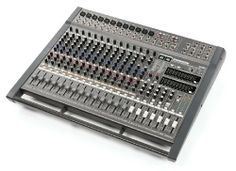 Samson TXM20 20 Channel Powered Mixer, 1000 Watts by Samson. $799.99. The Samson TXM20 is a twenty channel, powered mixer in an ergonomically correct, attractively appointed, tabletop enclosure.  The TXM20 features a massive 1000-watt power amplifier, which is capable of running in 2 x 500-watt stereo, 500-watt Main plus 500-watt monitor, or 1000-watt bridge mono operating modes. To set the overall tonal response of your mix, the TXM20 features a 9-band Stereo Grap...