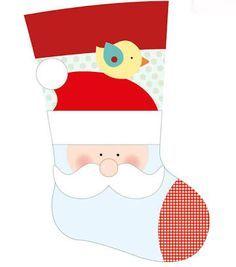 molde de botas de navidad - Buscar con Google