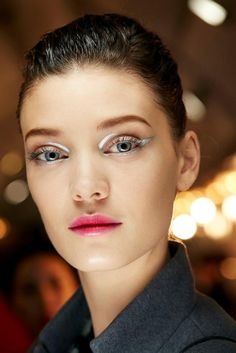 Las pasarelas desde mi smartphone - Dior beauty look: Wet & glossy make up