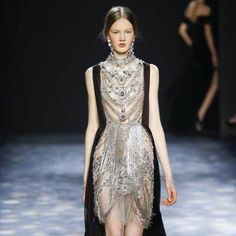 See all the Collection photos from Marchesa Autumn/Winter 2016 Ready-To-Wear now on British Vogue Marchesa 2016, Fall Winter, Autumn, Ready To Wear, British, Vogue, Formal Dresses, How To Wear, Collection
