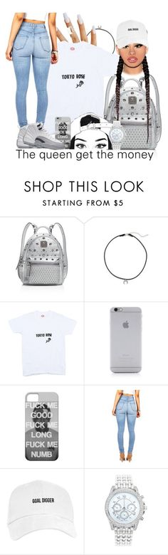 """Baron 12s"" by zoelh178 ❤ liked on Polyvore featuring MCM, Dogeared, Tokyo Rose, Native Union and Lane Bryant"