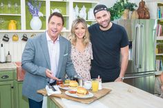Chef and owner of Nighthawk restaurant, Jeremy Fall is in the kitchen making what he calls the original gangster breakfast sandwich. Home And Family Tv, Home And Family Hallmark, Hallmark Channel, Coconut Cauliflower Rice, Grilled Mahi Mahi, Gangster, Mango Salsa, Seafood Dishes, Family Video