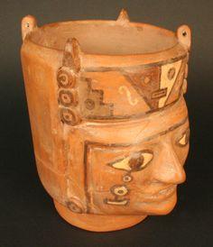 Wari/Tiwanaku. Ceramic, 700 - 1100 AD, 180mm high
