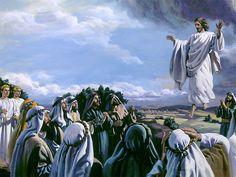 "Peristiwa Yang Membangun Iman ""Sesudah Ia mengatakan demikian, terangkatlah Ia disaksikan mereka, dan awan menutupi-Nya dari pandangan mereka. Ketika mereka"