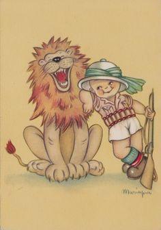 # ILLUSTRATORI: MARIAPIA- BAMBINO E LEONE n. 5100 in Collezionismo, Cartoline, Illustratori | eBay