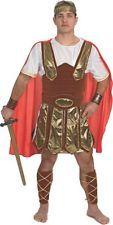 Trojan Soldier Costume Roman Warrior Forum Arena Adult Men's Greek Soldier Gold